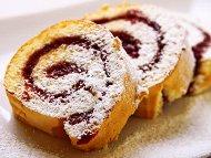 Рецепта Руло със сладко от боровинки (сладкиш)